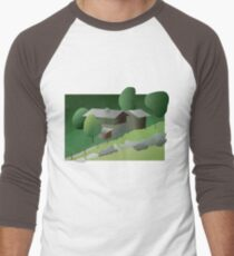 Once upon a time in Ballenberg (T-Shirt & iPhone case) Men's Baseball ¾ T-Shirt