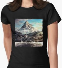 """""""The Lonely Mountain"""" Painting T-Shirt"""