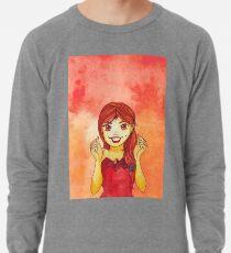 Flame Princess Watercolor Fanart Lightweight Sweatshirt
