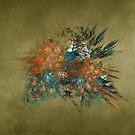 Flower Fractal Art by JBJart