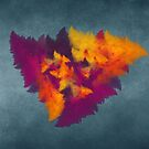 Triangles fractal art by JBJart
