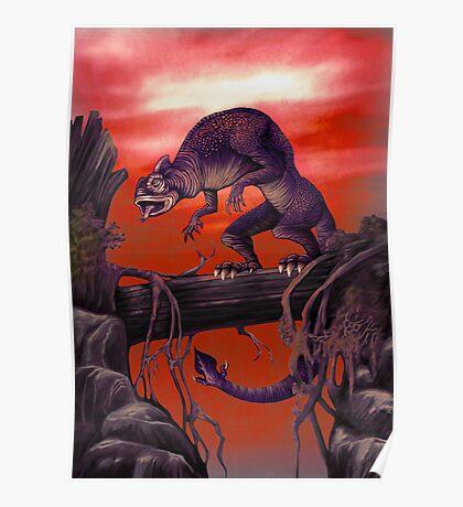 Salamandrake (Red Variant) Poster