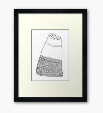 pepper shaker Framed Print