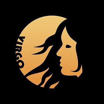Virgo Zodiac Sign by peculiardesign
