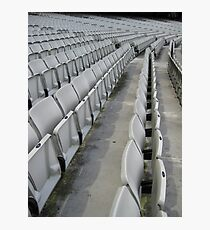 Seats Photographic Print