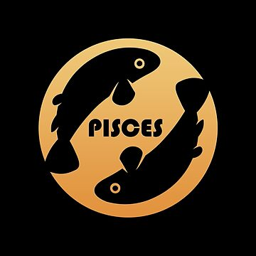 Pisces Zodiac Sign by peculiardesign