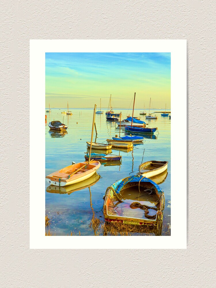 Alternate view of Leigh-on-Sea Art Print