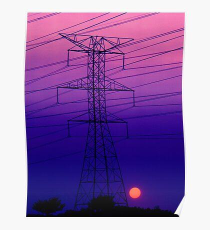 An Electric Dynamo Poster