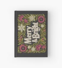 Merry and Bright Hardcover Journal