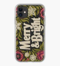 Merry and Bright iPhone Case