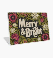 Merry and Bright Laptop Skin