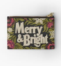 Merry and Bright Zipper Pouch