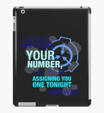 What's your (item) number iPad Case/Skin