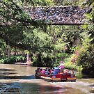 San Antonio Riverwalk Scene by Susan Russell
