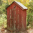 Old Outhouse by Gregg Williams