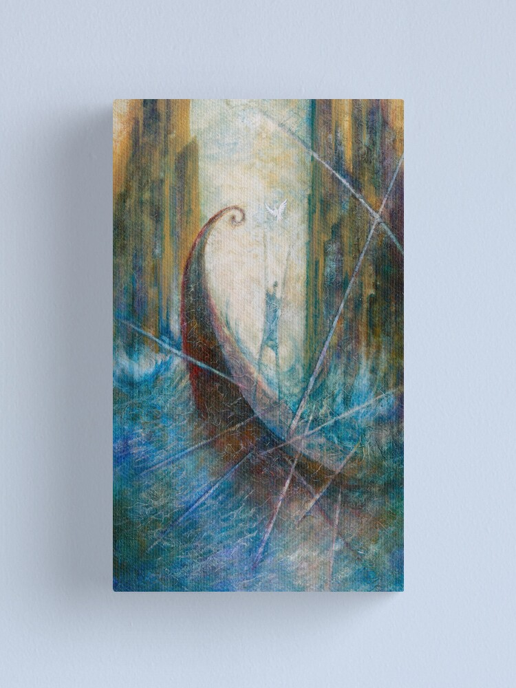 Alternate view of EUPHEMUS AND THE SYMPLEGADES Canvas Print