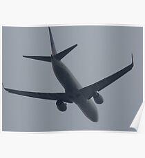 At Dusk Air Traffic Poster