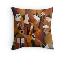 BERNIE McGANN QUARTET Throw Pillow