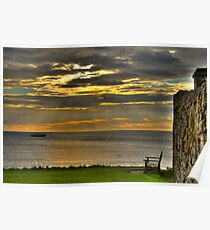 Scotland Sunrise 3 Poster