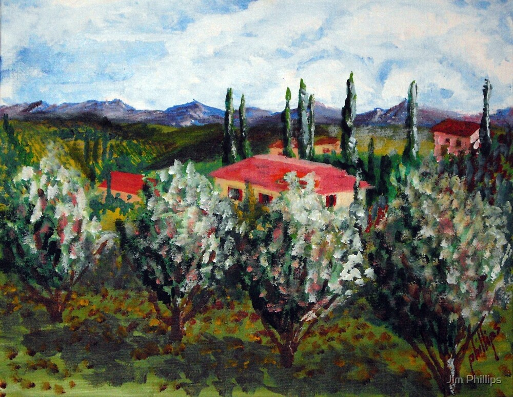 Italian Countryside by Jim Phillips