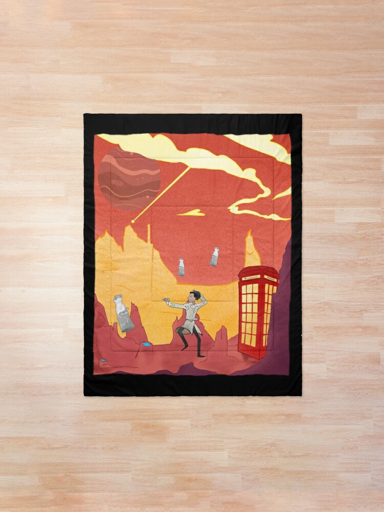 Alternate view of Inspector spacetime, Abed Community Adventure Comforter