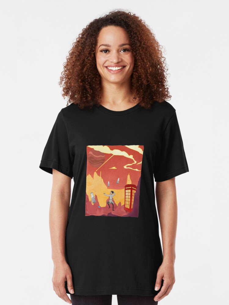 Alternate view of Inspector spacetime, Abed Community Adventure Slim Fit T-Shirt