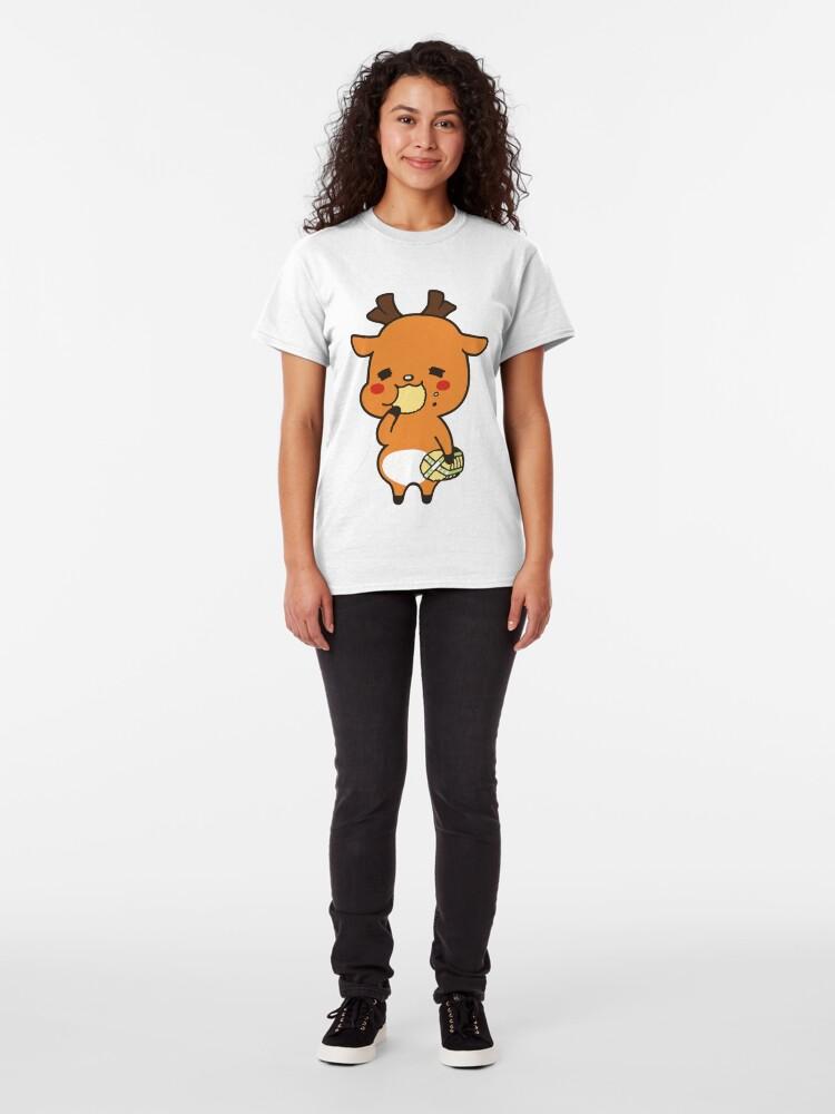 T-shirt classique ''Nara Shikamaro Cookie': autre vue