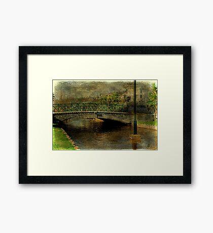 Jubilee Bridge Framed Print
