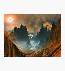 Standing Stones - Illorium Valley Photographic Print