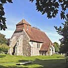 Church of St.Mary the Virgin, Friston, East Sussex by dgbimages