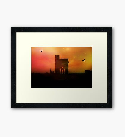 When the bell tolls ©  Framed Print