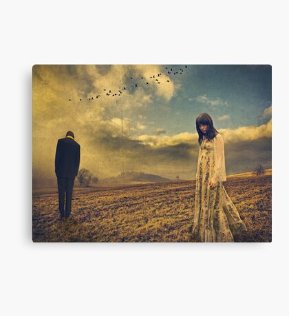 Away In Silence... Canvas Print