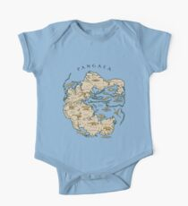 map of the supercontinent Pangaea One Piece - Short Sleeve