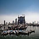 Dhow harbor, Souq Shark, Kuwait by NicoleBPhotos