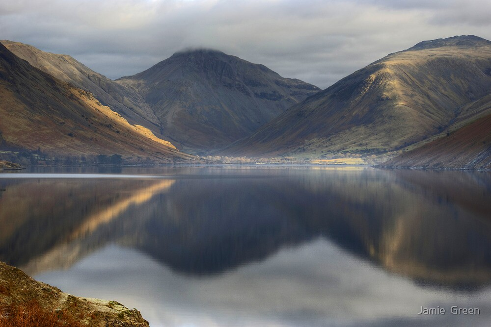 Wastwater In January by Jamie  Green