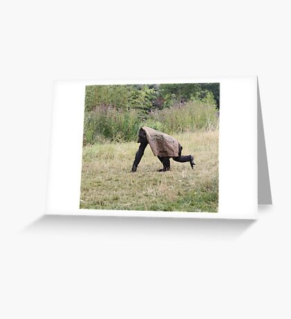Under Cover Greeting Card