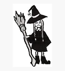 Witchy Girl Photographic Print