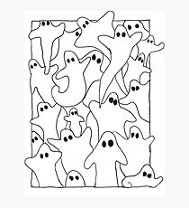 Ghastly Ghosts Photographic Print