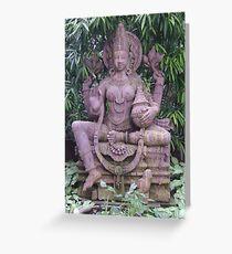 Lakshmi, Hindu goddess of Prosperity (Bhubaneshwar) Greeting Card