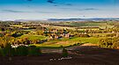 Harbottle Village, Coquetdale. Northumberland National Park UK by David Lewins