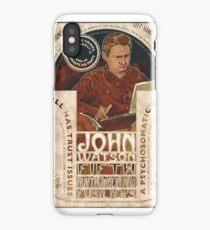 John Watson Art Nouveau iPhone Case/Skin