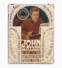 John Watson Art Nouveau iPad Case/Skin