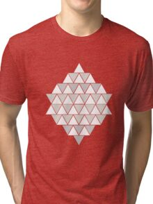 triangle design 3.2 Tri-blend T-Shirt