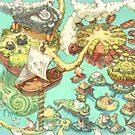 « Carte des cahiers Contributopia » par David  Revoy