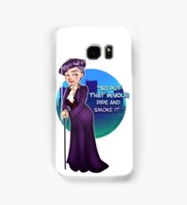 Violet Crawley, the Dowager Countess of Grantham Samsung Galaxy Case/Skin