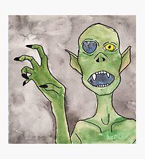 Goblin Monster Photographic Print