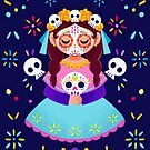 Sugar Skull Girl by lobomaravilha