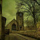St Michael's And All Angels' Parish Church, Haworth by Sandra Cockayne