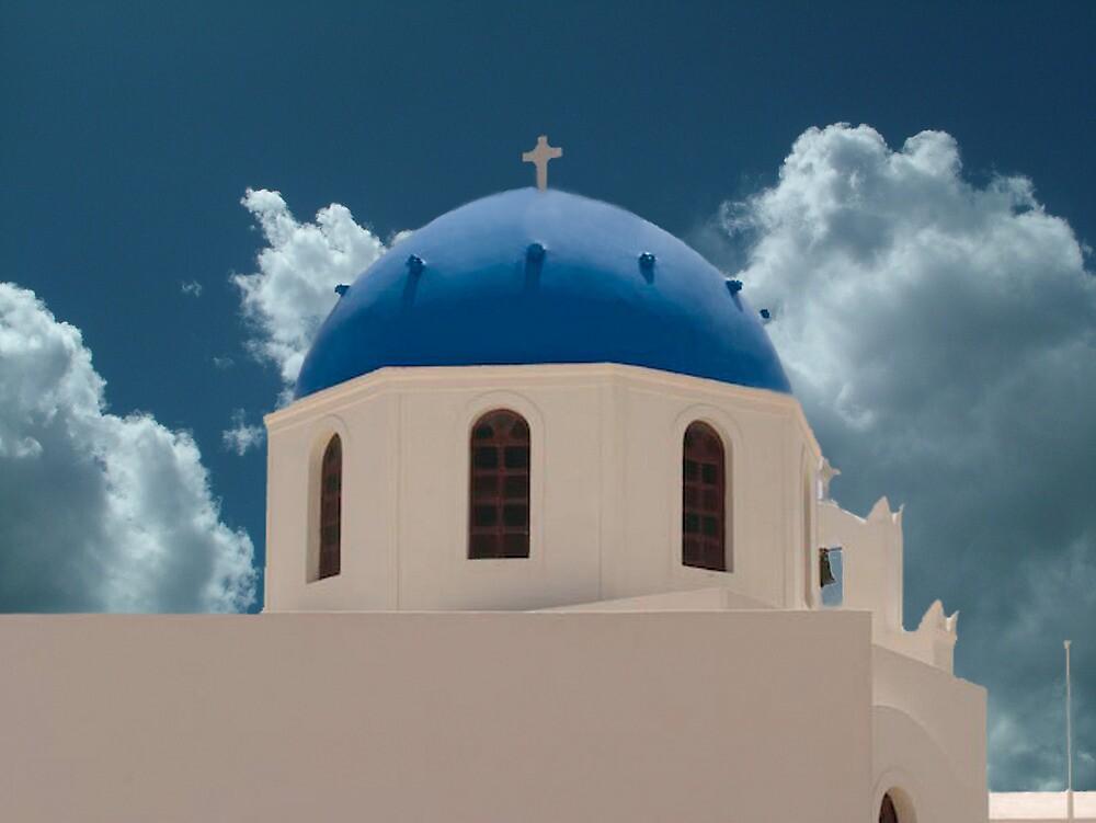 Santorini Greece Church by ✿✿ Bonita ✿✿ ђєℓℓσ