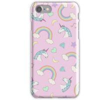 Unicorn Dream Pattern iPhone Case/Skin